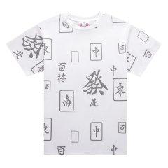 5min/5min火热传奇系列清一色反光T恤女士短袖T恤图片
