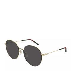 GUCCI/古驰 女士时尚金边圆形太阳镜墨镜GG0395SK多色可选图片