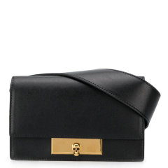 Alexander McQueen/亚历山大麦昆 20年春夏 百搭 女性 黑色 腰包 610184/1CW0T1000图片