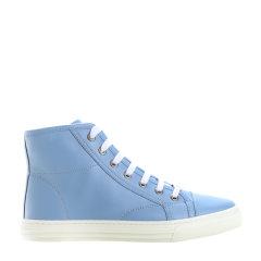 GUCCI/古驰 牛皮 系带 高帮女士休闲鞋 休闲运动鞋 女鞋423299A9L00图片