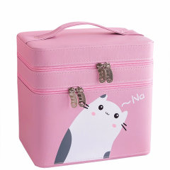 加加林大容量化妆箱韩国化妆包多功能手提多层化妆品收纳盒图片