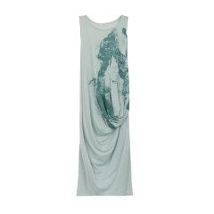 EXCEPTION/例外-水墨印花针织连衣裙-女士连衣裙图片