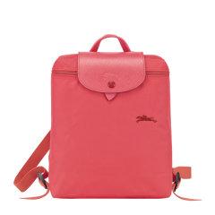Longchamp/珑骧 LE PLIAGE系列女士纯色翻盖奔马徽标刺绣按扣拉链开合可折叠迷你双肩包手提包背包女包 1699619 多色可选图片
