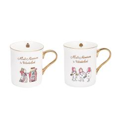 大英博物馆 爱丽丝漫游奇境系类骨瓷杯咖啡杯水杯图片