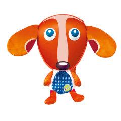 瑞士OOPS/OOPS 防走失3D背包带牵引绳 宝宝可爱毛绒玩具书包(材质:聚酯纤维EVA)图片