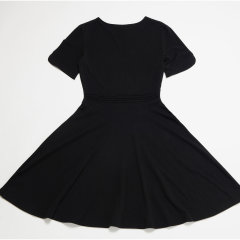 SHOKAY/绣嘉 环保棉休闲针织女士连衣裙图片