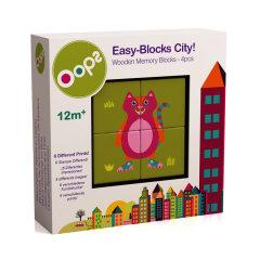 【母婴】玩具 瑞士Oops六面画智力拼图积木 儿童幼儿益智 趣味图片