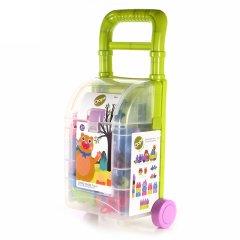 【母婴】玩具瑞士Oops大颗粒塑料积木 拉杆箱玩具 益智拼插 多功能玩具收纳箱图片