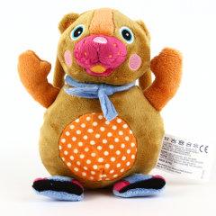 【母婴】瑞士Oops宝宝儿童 音乐伙伴毛绒布艺玩具公仔玩偶 玩具礼品图片