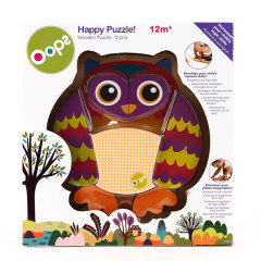 【母婴】瑞士Oops 快乐拼图积木玩具 益智趣味礼物图片