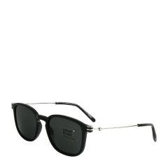 MontBlanc/万宝龙  黑色镜框蔡司镜片中性款简约时尚太阳镜 万宝龙太阳镜MB698S-01A图片