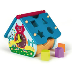 【母婴】瑞士Oops玩具屋木房子 小木屋拼搭积木 创意趣味 礼物礼品图片