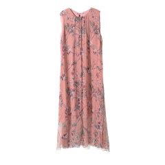 GeleiStory/GeleiStory2020夏季新款淑女风真丝女士连衣裙无袖桑蚕丝印花裙子图片