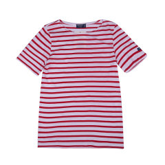 Saint James/圣杰姆 女士条纹纯棉短袖夏装女士短袖T恤 海魂海军衫水手服9863图片