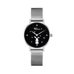 星际熊埃莉诗手表女学生时尚气质女士手表细带精致简约潮钢带手表图片