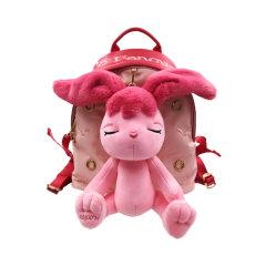 星际熊埃莉诗兔子公仔女背包书包时尚休闲2020新款双肩背包女 小包图片