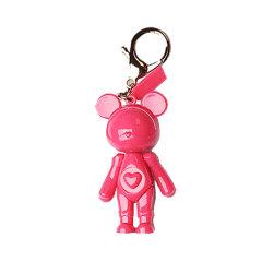 星际熊钥匙扣多色卡通公仔钥匙扣包包配件小挂饰玩具公仔图片