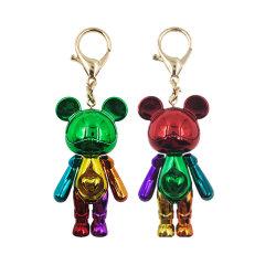 星际熊钥匙扣包包配饰挂件小熊钥匙扣创意礼品套装礼盒图片