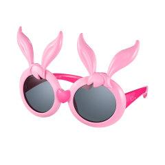 星际熊埃莉诗儿童太阳眼镜女童2019新款时尚偏光兔子个性宝宝墨镜图片
