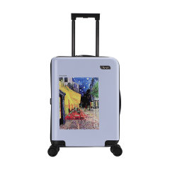 WAAGE/WAAGE BOOKSERIES GM梵高系列聚碳酸酯材质20英寸万向轮登机箱行李箱旅行箱拉杆箱图片