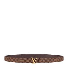 【预售】Louis Vuitton/路易威登 LV 女士MINI MONOGRAM时尚闪耀金属搭扣腰带皮带图片