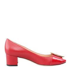 BALLY/巴利【20春夏】扣环装饰红色女士中跟鞋 JACKIE 45BLLSF025图片