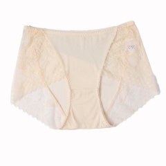 GeleiStory/GeleiStory春夏真丝短裤系列 桑蚕丝蕾丝边性感中腰内裤2020年夏季新款图片