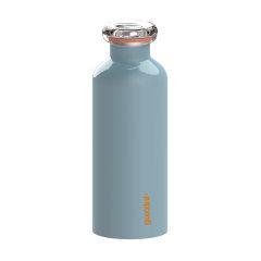 意大利进口时尚不锈钢保温杯 彩色烤漆保冷水杯 利快guzzini运动水杯水壶500cc图片