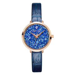 【明星同款】Pierre Lannier/连尼亚 手表女法国原装进口施华洛世奇水晶元素星钻系列满天星石英表图片