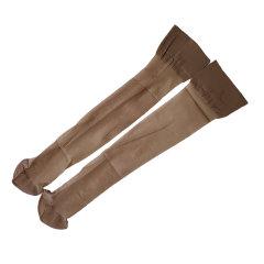 yumei/寓美 【3双装】女士袜子 5D天鹅绒中筒袜透明清爽透气 女夏时尚薄款珠光丝袜图片