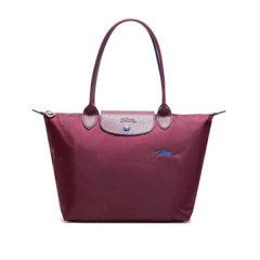 Longchamp/珑骧 女士中年,孕妇LE PLIAGE系列织物/配皮尼龙长柄可折叠手提单肩包 2605刺绣图片