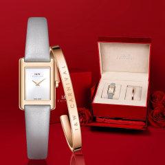 【官方授权】I&W CARNIVAL HWGUOJI/爱沃驰 手表女士手表时尚防水石英女表方形皮带iw手表图片