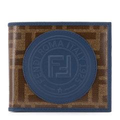 FENDI/芬迪   男士牛皮经典双F标识钱包钱夹图片