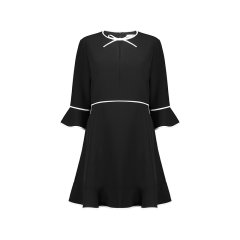 Ted Baker/Ted Baker女士连衣裙时尚简约连衣裙女中长款长袖百搭英伦风裙子 159005图片