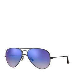 【SALE】Ray-Ban/雷朋 飞行员蛤蟆镜男女款太阳镜炫光彩膜反光镜片墨镜眼镜 RB3025 002 58/62mm图片