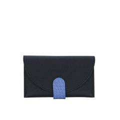 CAMILLE FOURNET/卡米富尔奈 奢侈品 女士小牛皮配鳄鱼皮信封包钱包图片
