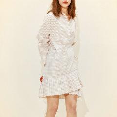 JSNY_2WAY 衬衫型连衣裙图片