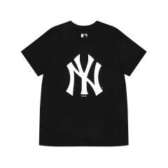 MLB 男女T恤NY/LA短袖03系列基础小标刺绣运动通用圆领夏季新款 31TS03031图片