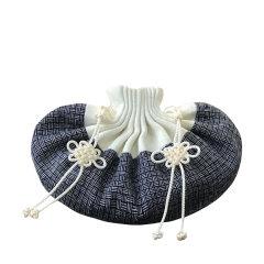 ZhY/庄一 实用品:蓝芦白·手工刺绣香囊 真丝拼接事事如意中药随身古韵香包香囊挂件图片