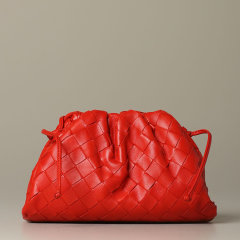 Bottega Veneta/葆蝶家 20年秋冬 百搭 女性 logo 蓝色 单肩包 585852VCPP1 4611图片