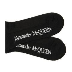 Alexander McQueen/亚历山大麦昆 20年春夏 百搭 男性 男袜 5734584C05Q图片