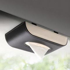 QUEES/乔氏 车用纸巾盒 汽车遮阳挡挂式纸巾盒图片