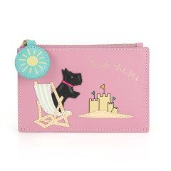 Radley/蕾德莉英国 女士可爱萌狗风景图案小号拉链零钱包牛皮革收纳包S1941100图片