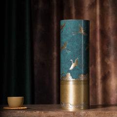 ZBR/朱炳仁·铜  精铜   瑞鹤呈现花瓶系列  非遗家居摆件装饰品图片
