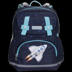 MoonRock/梦乐,材质:聚酯纤维护脊书包2020新品一二三年级小学生儿童轻便减负背包图片