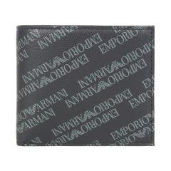 【包邮包税】Emporio Armani/安普里奥阿玛尼 男士全覆盖EAlogo 短款钱包 Y4R166 YLO7E图片