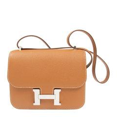 Hermès 爱马仕 Constance系列 女士Epsom皮经典康康单肩包斜挎包图片
