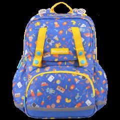 MoonRock/梦乐护脊书包2020新品1-3年级小学生男女童轻便减负背包,材质:聚酯纤维图片