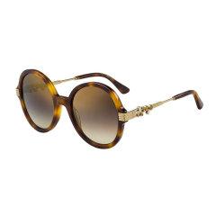 Jimmy Choo/周仰杰 新品 时尚 水钻 女士 太阳眼镜 大圆框 黑色 墨镜 驾驶镜 ADRIA/G/S图片