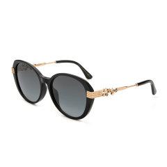 Jimmy Choo/周仰杰 新款时尚潮流墨镜 带钻椭圆框太阳眼镜 百搭户外太阳镜 ORLY/F/S图片